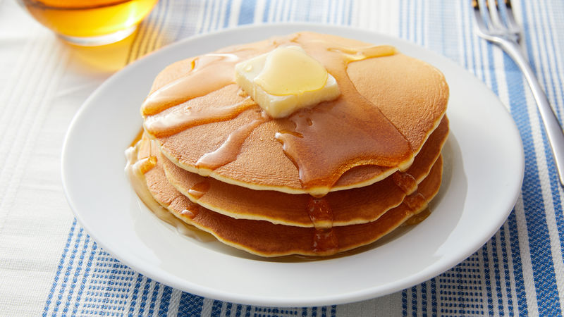 Classic Pancakes Recipe - BettyCrocker.com